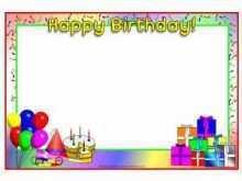 37 The Best Birthday Card Template Sparklebox PSD File by Birthday Card Template Sparklebox