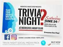 37 The Best Trivia Night Flyer Template For Free for Trivia Night Flyer Template