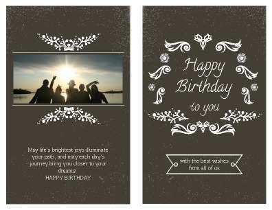 37 Visiting Birthday Card Templates Printable Download by Birthday Card Templates Printable