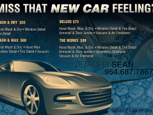 37 Visiting Car Detailing Flyer Template Maker by Car Detailing Flyer Template