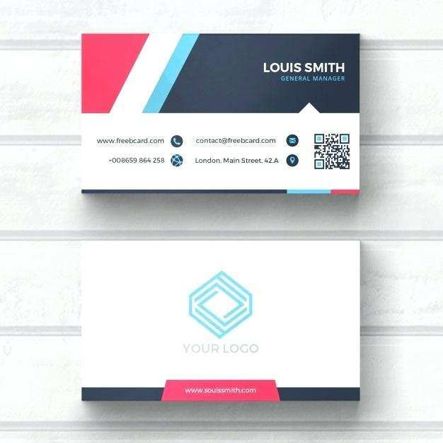 37 Visiting Card Template In Powerpoint With Stunning Design with Card Template In Powerpoint