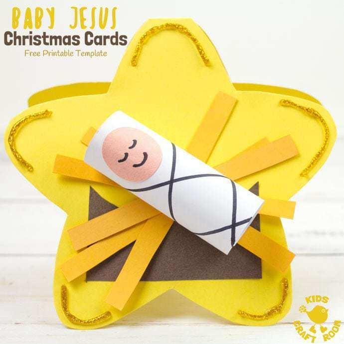 38 Adding Baby Christmas Card Template PSD File with Baby Christmas Card Template