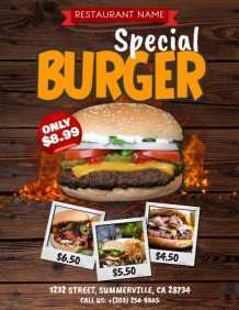 38 Adding Burger Promotion Flyer Template Formating for Burger Promotion Flyer Template
