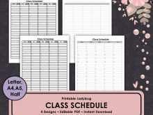 38 Adding College Class Schedule Template Printable Download for College Class Schedule Template Printable