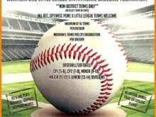 38 Best Baseball Flyer Template Free Formating for Baseball Flyer Template Free