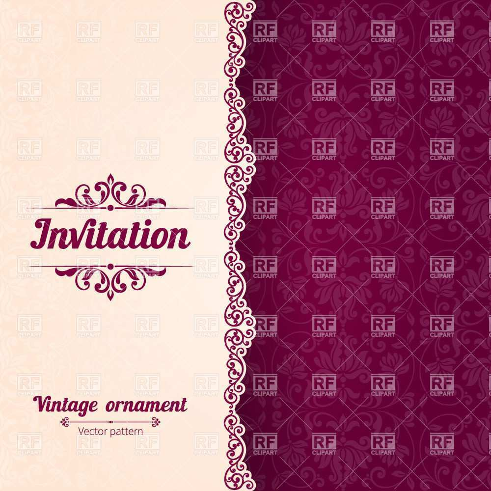38 Best Invitation Card Template Vector Photo by Invitation Card Template Vector