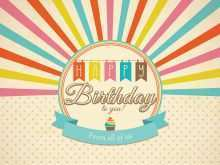 38 Blank Birthday Card Vintage Template Download with Birthday Card Vintage Template