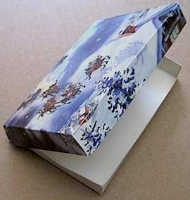 38 Blank Christmas Card Box Template For Free with Christmas Card Box Template