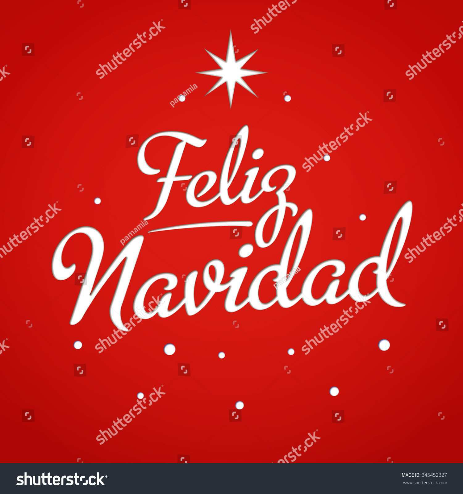 38 Create Christmas Card Templates In Spanish in Word by Christmas Card Templates In Spanish