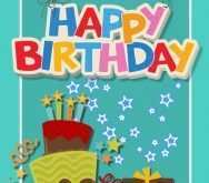 38 Create Happy Birthday Card Template A4 in Photoshop for Happy Birthday Card Template A4