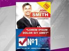 38 Creating Campaign Flyer Templates For Free with Campaign Flyer Templates