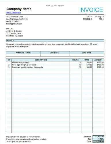 38 Creating Hourly Invoice Template Excel Templates With Hourly Invoice Template Excel Cards Design Templates