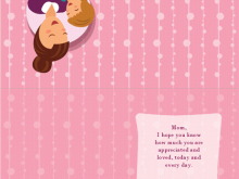 38 Creating Mothers Card Templates Excel With Stunning Design for Mothers Card Templates Excel