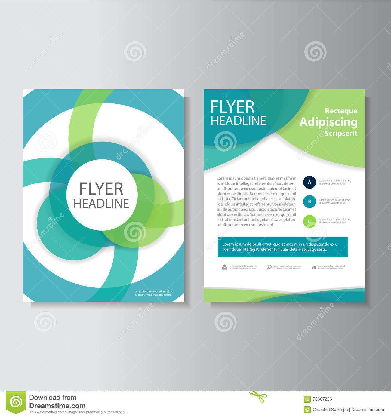 38 Creative Brochure And Flyers Template Design In Vector Maker for Brochure And Flyers Template Design In Vector
