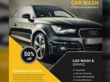 38 Creative Car Wash Flyer Template Free in Word for Car Wash Flyer Template Free