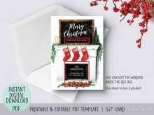 38 Creative Christmas Card Templates To Print At Home PSD File by Christmas Card Templates To Print At Home