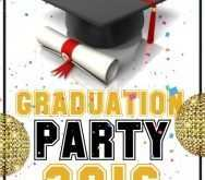 38 Creative Graduation Party Flyer Template Templates for Graduation Party Flyer Template