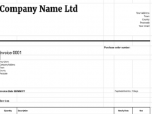 38 Customize Basic Company Invoice Template Templates for Basic Company Invoice Template