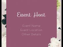 Invitation Card Event Template