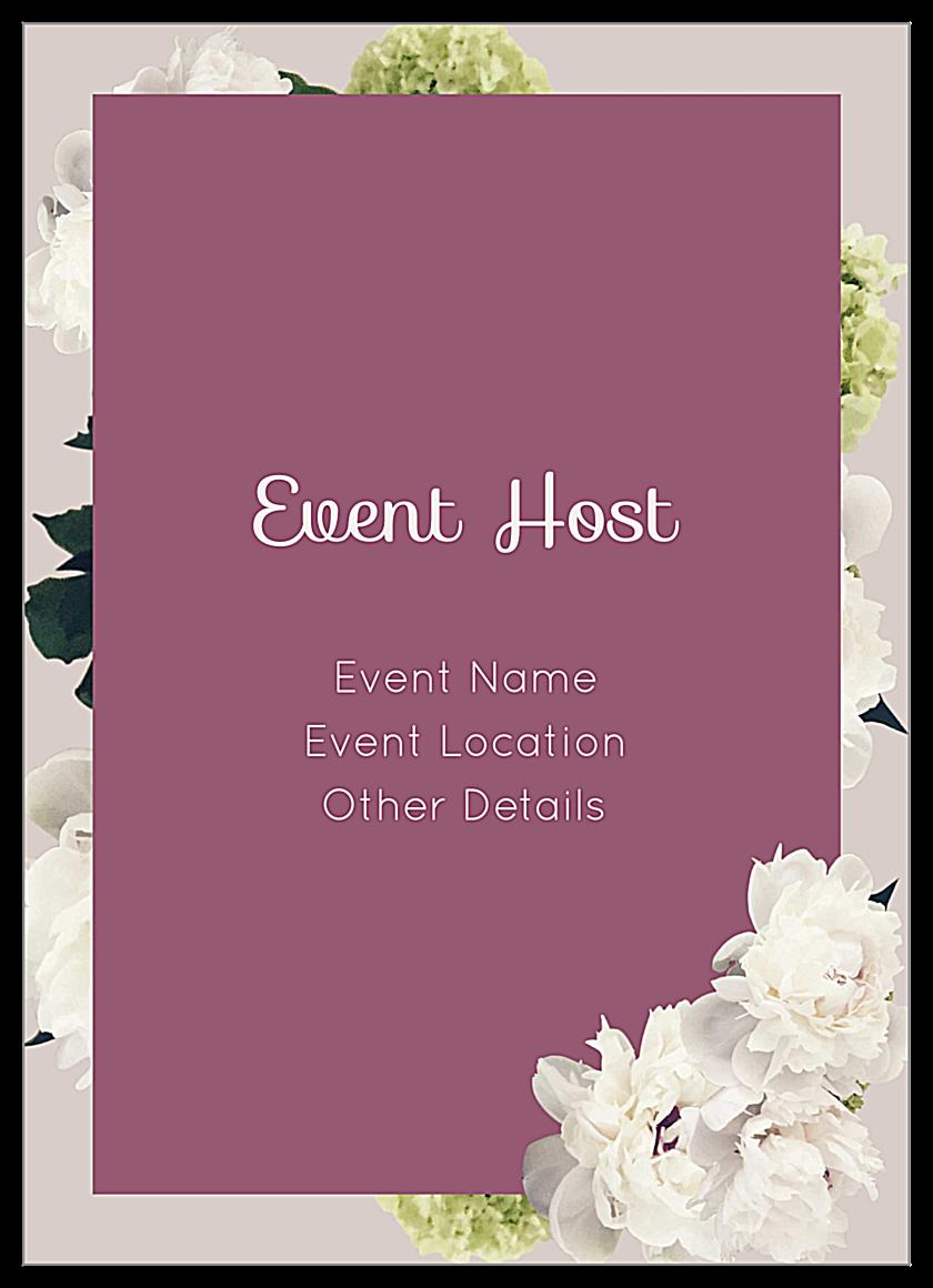 invitation card event template  cards design templates