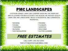 38 Customize Mowing Flyer Template Templates with Mowing Flyer Template