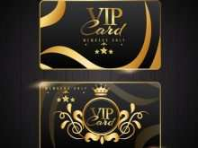 38 Customize Our Free Vip Card Template Free Maker with Vip Card Template Free