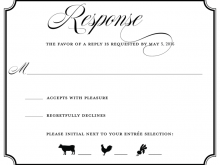 38 Format Invitation Card Rsvp Template for Ms Word with Invitation Card Rsvp Template