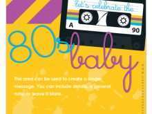 38 Free 80S Birthday Card Template Layouts for 80S Birthday Card Template