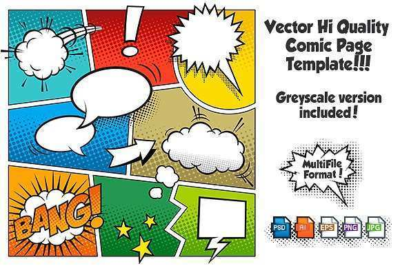 38 Free Comic Flyer Template in Word for Comic Flyer Template