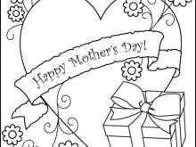 38 Free Mother S Day Card Templates To Color With Stunning Design by Mother S Day Card Templates To Color