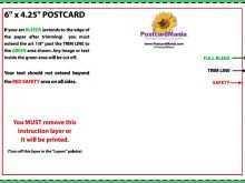 38 Free Printable 4X6 Postcard Template Pdf Maker by 4X6 Postcard Template Pdf