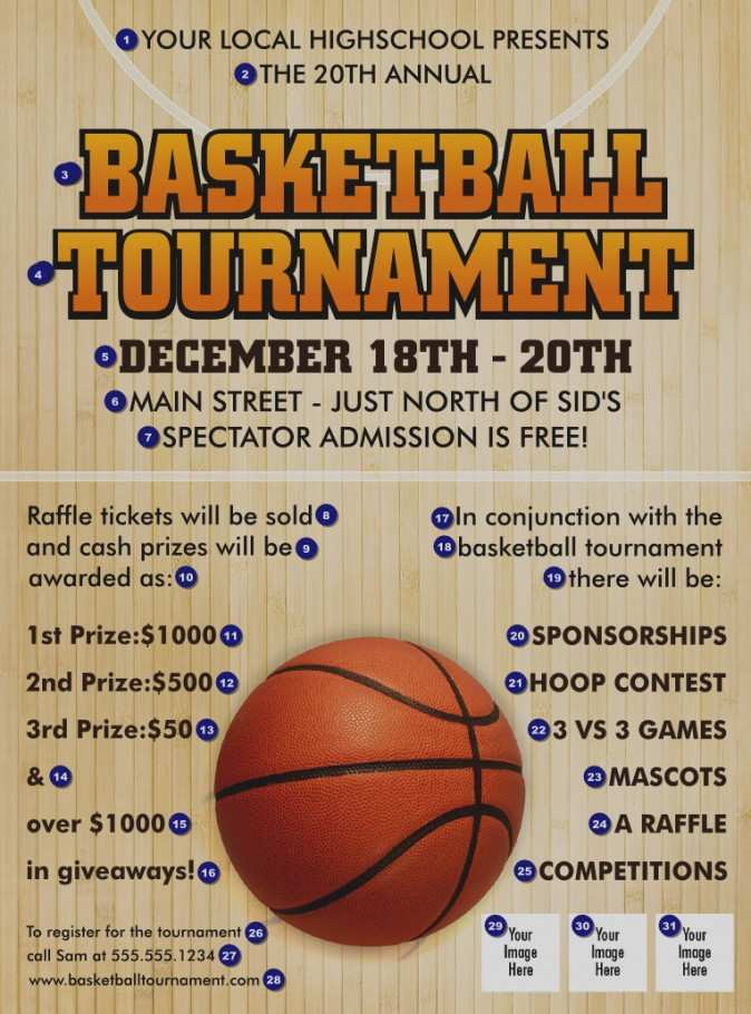 Basketball Flyer Template Word from legaldbol.com