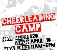 38 Free Printable Cheer Camp Flyer Template Maker for Cheer Camp Flyer Template