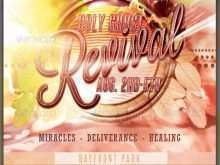 38 Free Printable Revival Flyer Template For Free for Revival Flyer Template