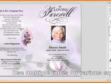 38 Online Funeral Flyer Templates for Ms Word with Funeral Flyer Templates