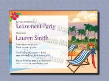 38 Online Invitation Card Format For Retirement Party Layouts with Invitation Card Format For Retirement Party