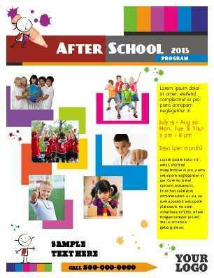 38 Printable After School Care Flyer Templates in Photoshop by After School Care Flyer Templates