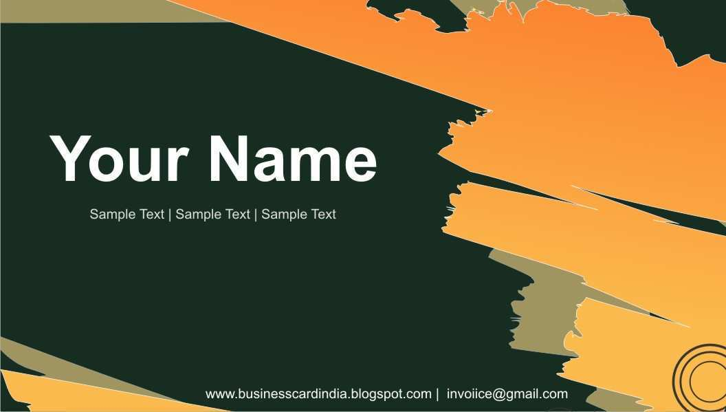 38 Printable Name Card Templates India Maker with Name Card Templates India
