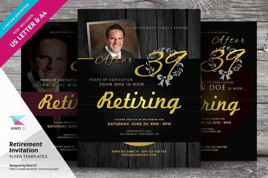 38 Printable Retirement Announcement Flyer Template for Ms Word for Retirement Announcement Flyer Template