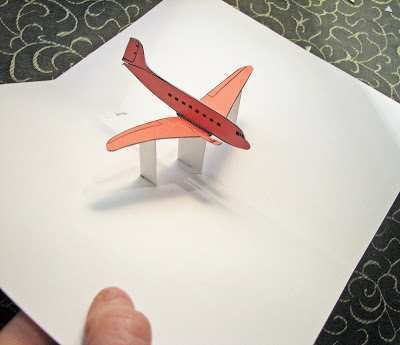 38 Report Airplane Pop Up Card Template Layouts by Airplane Pop Up Card Template
