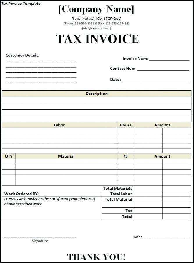 Billing Statement Template Free from legaldbol.com