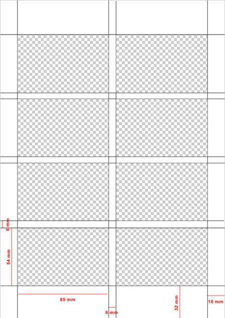 38 The Best Business Card Template Grid in Photoshop by Business Card Template Grid