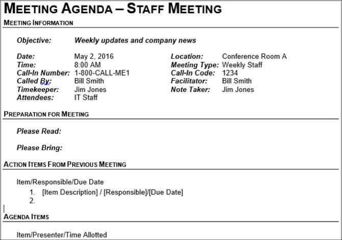 38 The Best Conference Agenda Template Word With Stunning Design for Conference Agenda Template Word