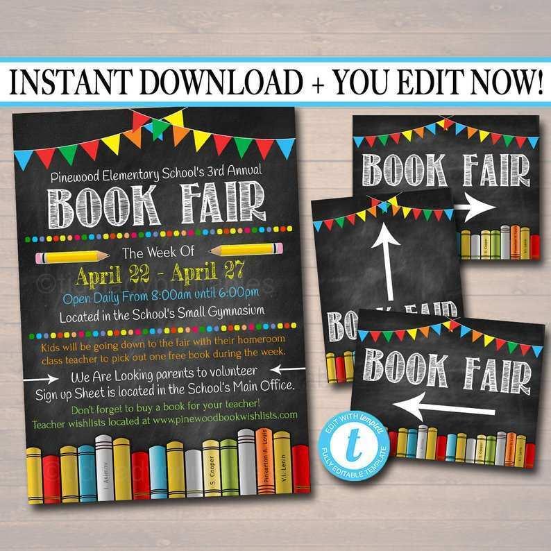 38 Visiting Book Fair Flyer Template Download with Book Fair Flyer Template