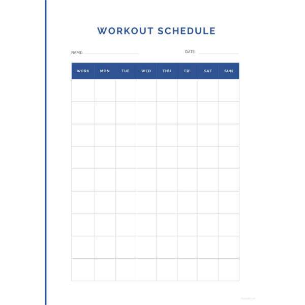 39 Blank Class Schedule Template Microsoft Word Download with Class Schedule Template Microsoft Word