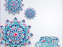 39 Blank Eid Card Templates Greeting in Word with Eid Card Templates Greeting