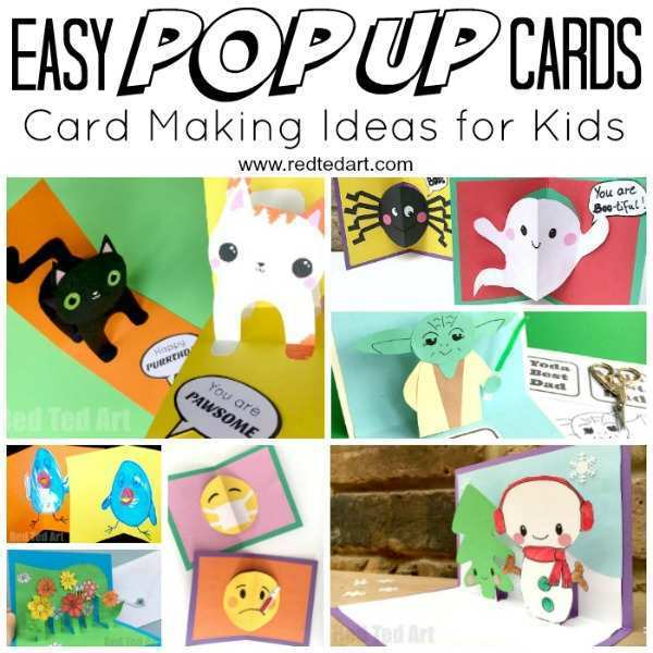 39 Blank Pop Up Card Tutorial Animals Maker with Pop Up Card Tutorial Animals