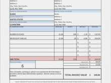 Tax Invoice Template Australia Free