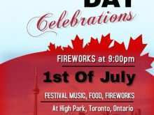 39 Create Canada Day Flyer Template Now for Canada Day Flyer Template