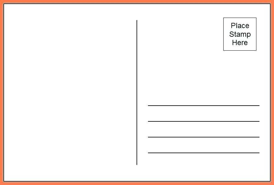 39 Creating 6X4 Postcard Template Templates by 6X4 Postcard Template